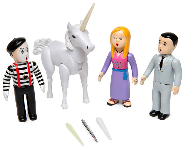 Avenging unicorn playset parts