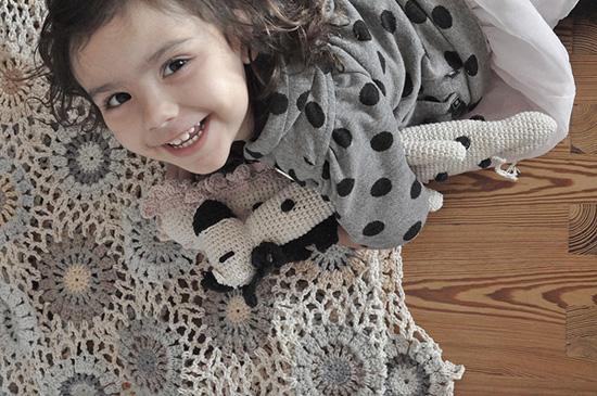 Jirafa crochet 3