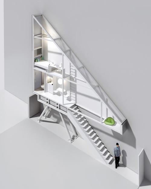 Dezeen Keret House by Jakub Szczesny 10