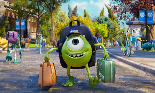 Mike Monsters University still