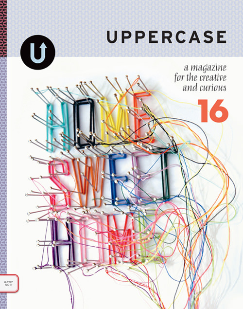 UPPERCASE 16 frontcover web
