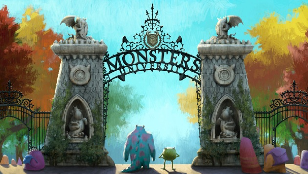 Monsters university gate concept
