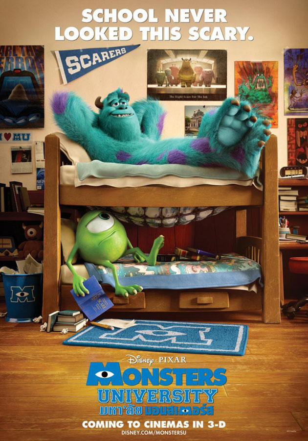Monsters university posters international