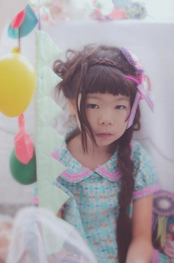 Ff Japanese kids fashion trends with retro styling in patter