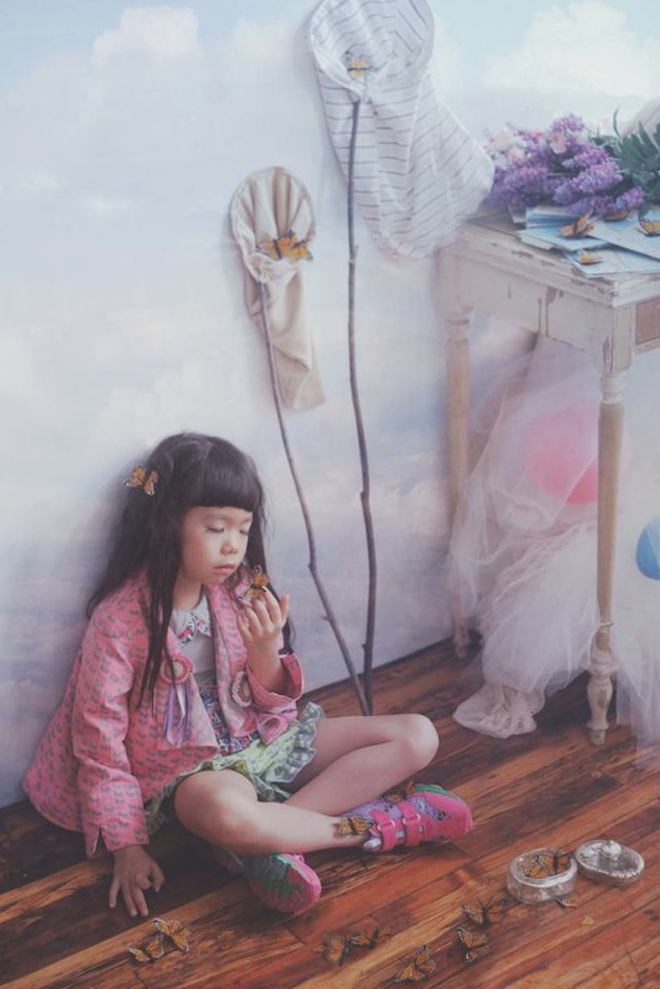 Ff kids fashion is a wonderland of mixtures of pattern and t
