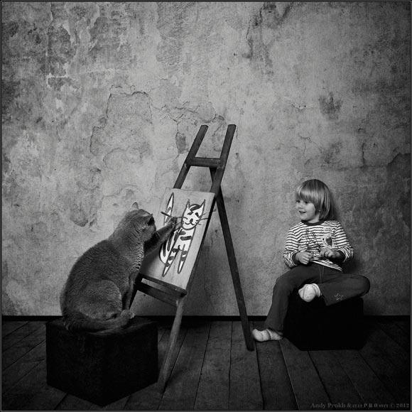cat&littlegirl-4