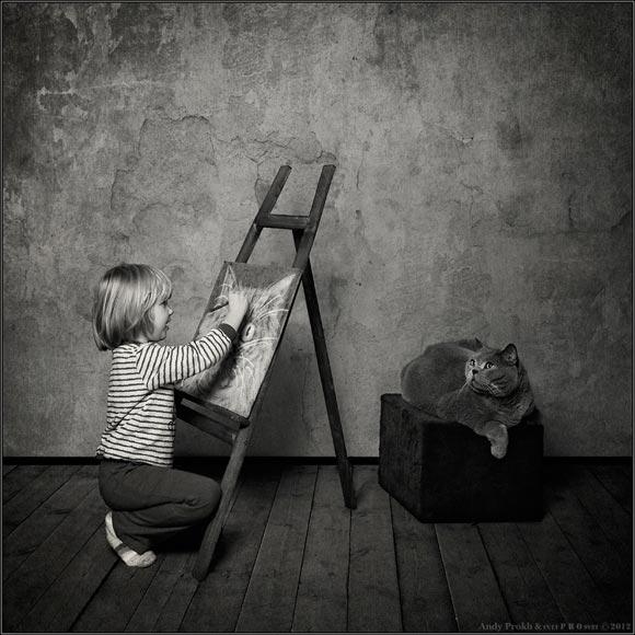 cat&littlegirl-5