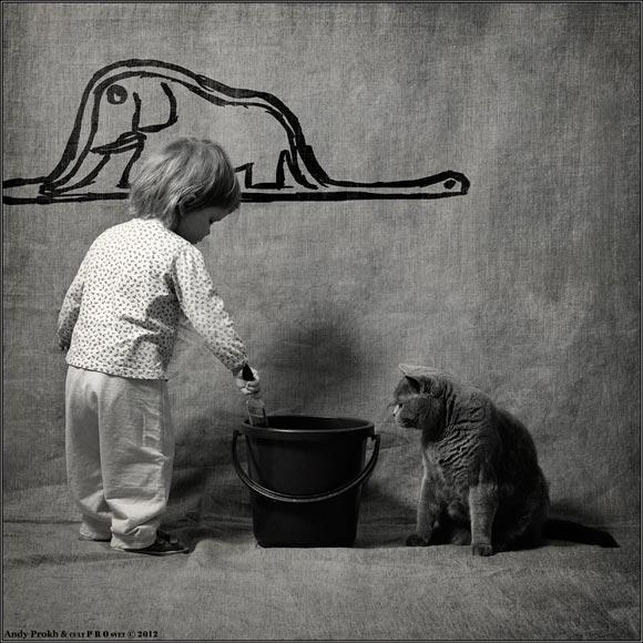 cat&littlegirl-8