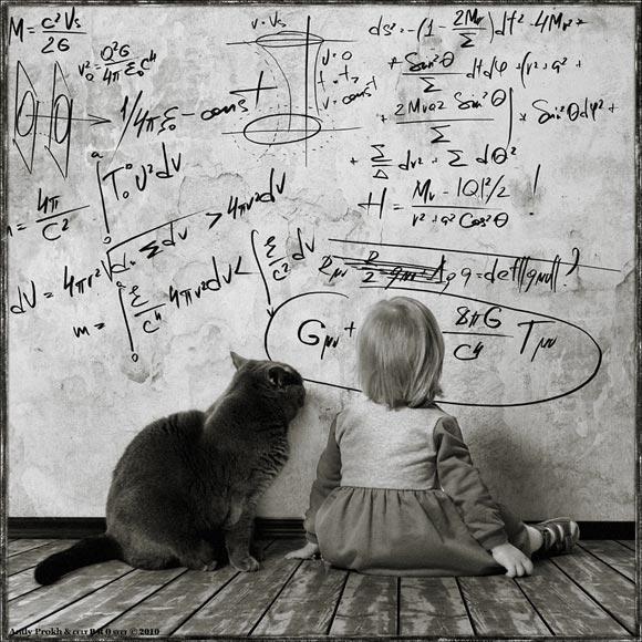 cat&littlegirl